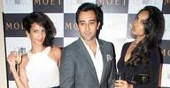 Spotted: Poorna Jagannathan, Rahul Khanna and Lisa Haydon