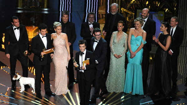 France Takes Berets off to 'The Artist' After Oscar Win
