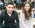 Spotted: Sonam Kapoor with British professional boxer Amir Khan
