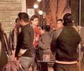 Mallika and Vivek on the sets of 'Kismat Luv Paisa Dilli'
