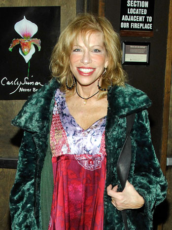 Carly Simon To Be Honored by ASCAP