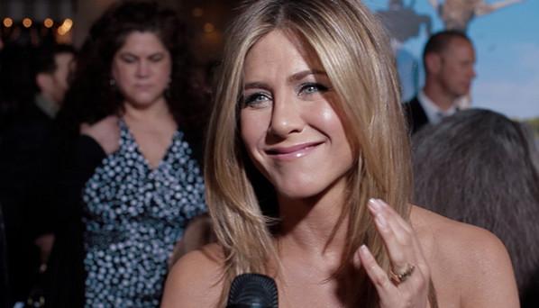 Jennifer Aniston Talks Reuniting with Paul Rudd for 'Wanderlust'