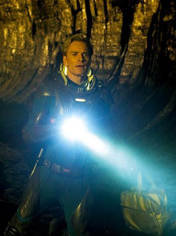 Ridley Scott and Michael Fassbender Explore an 'Alien' Landscape in an International 'Prometheus' Trailer