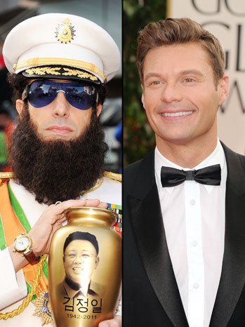 Sacha Baron Cohen's Joke Leaves Ryan Seacrest in the Dust: What Hollywood Is Saying