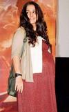 Vidya Balan goes unnoticed in Kolkata