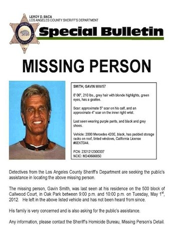 20th Century Fox Executive Gavin Smith Missing for 3 Days Now, Since Tuesday!